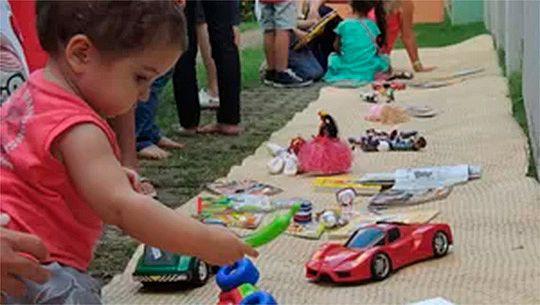 Sindicato de Guarapuava dá início àcampanha para arrecadar brinquedos